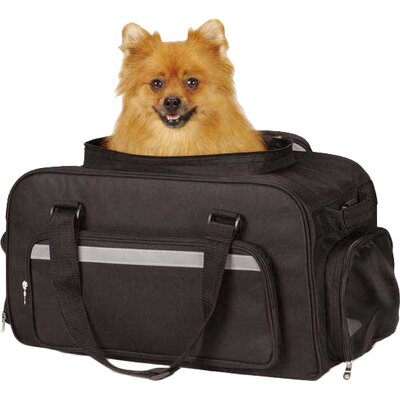 On The Go Carry Pet Carrier Color: Black