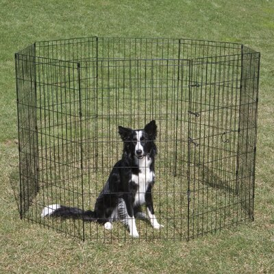 Exercise Dog Pen Size: Small (24 H)