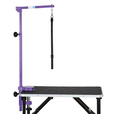 Foldable Grooming Arm Finish: Purple