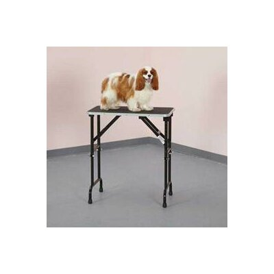 Adjustable Height Grooming Pet Table Size: 36 W x 24 D