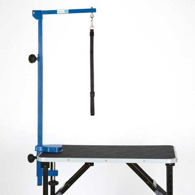 Foldable Grooming Arm Finish: Blue