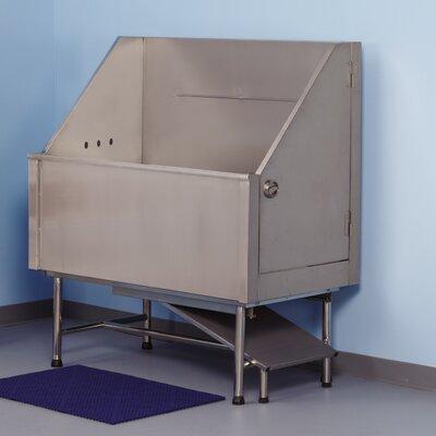 Superior 48 Left Plumb Stainless Steel Evolve Tub