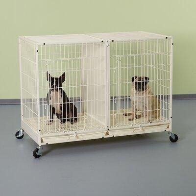 Modular Pet Crate Size: 32.5 H x 23.63 W x 47.5 L
