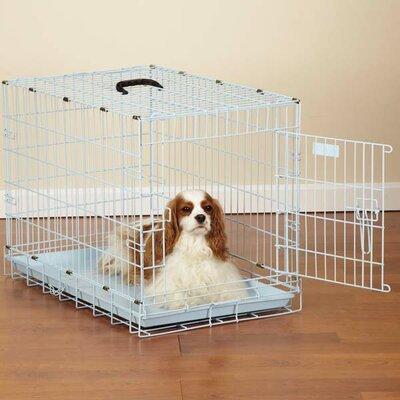 Pastel Pet Crate Size: Small ( 20 H x 24 W x 17 L), Color: Powder Blue