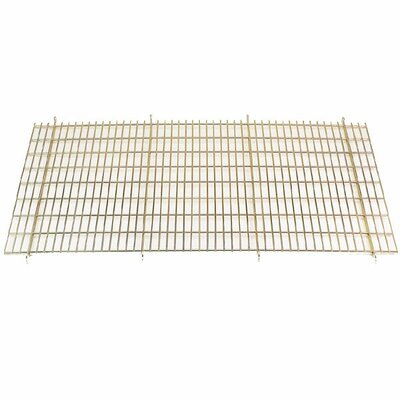 Floor Grate Cage in Gold Size: Medium / Large (36 D)