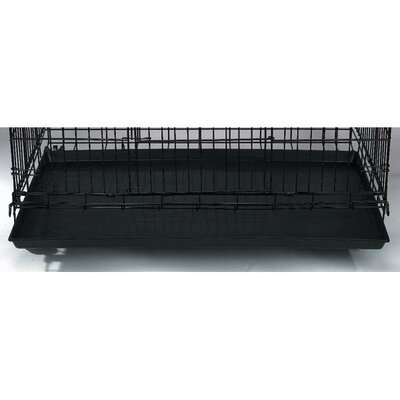 Replacement Tray for Cat Cage Color: Black