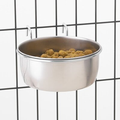 Hanging Pet Bowl (Set of 2) Size: 8 Oz.