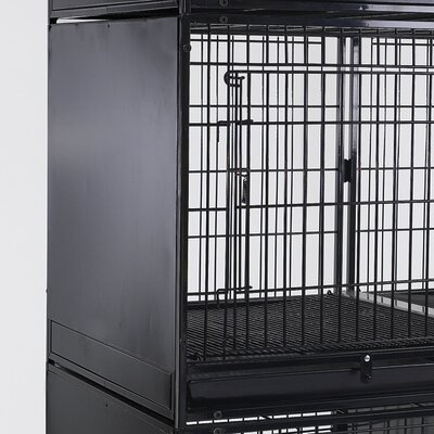 Modular Cage Side Panel Color: Black