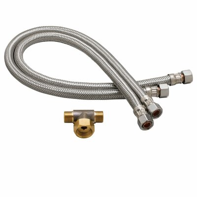 Commander Faucet Flex Hoses Set