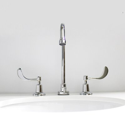 Commander Double Handle Widespread Bathroom Faucet Size: 8