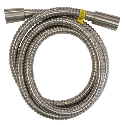 Hand Shower Hose Finish: Brushed Nickel