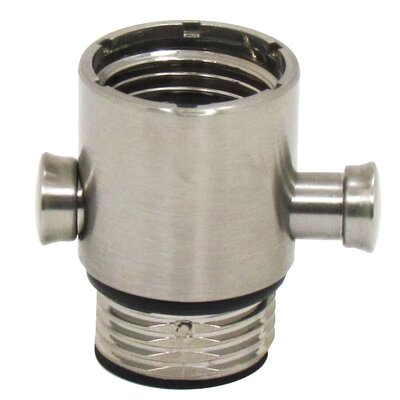 Pause Trickle Adapter for Hand-held Showers Finish: Brushed Nickel