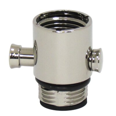 Pause Trickle Adapter for Hand-held Showers Finish: Polished Nickel