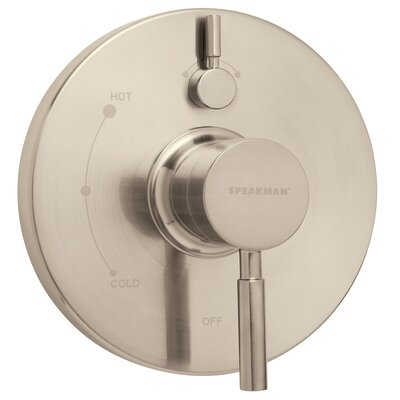 Neo Pressure Balance Valve and Trim Finish: Brushed Nickel