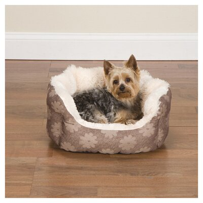 "Uptown Nest Dog Bed Size: Small (18"" L), Color: Flowers"