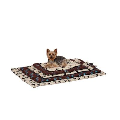 """Plush Dog Mat Size: Extra Large (35"""" L x 22"""" W), Color: Royal Blue"""