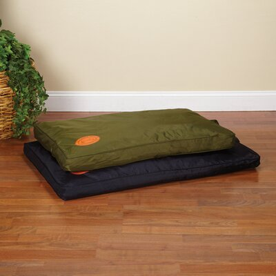 Tough Dog Mat Size: Large (42 L x 28 W), Color: Black