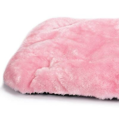 Cloud Dog Mat Size: Medium (30 L x 20 W), Color: Pink