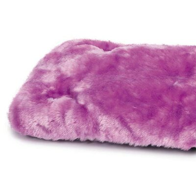 Cloud Dog Mat Size: Small (20 L x 11 W), Color: Lavender