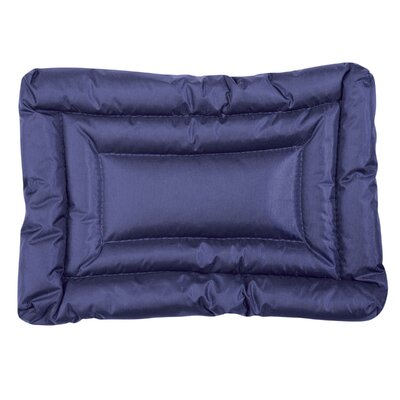 Water Resistant Dog Mat Size: Medium (30 L x 19 W), Color: Blue