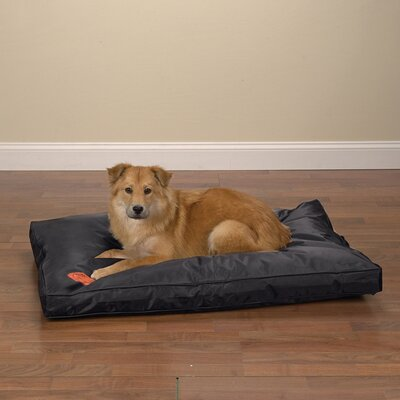 "Tough Dog Mat Size: Large (42"" L x 28"" W), Color: Black"