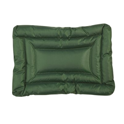 Water Resistant Dog Mat Size: Small (24 L x 17 W), Color: Green