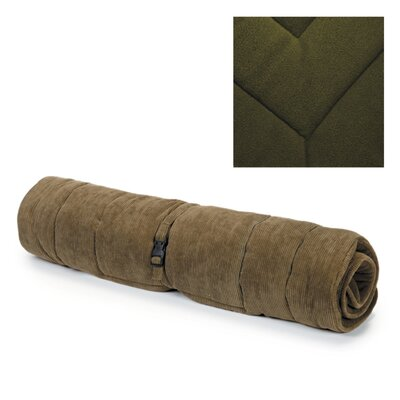 Reversible Mat/Pad Size: Small (16.75 W x 23.75 D x 1 H) , Color: Moss Green