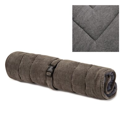Reversible Mat/Pad Size: Small (16.75 W x 23.75 D x 1 H) , Color: Charcoal Gray