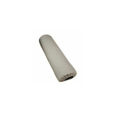 Jumbo Half Round Bolster Cover Color: Natural