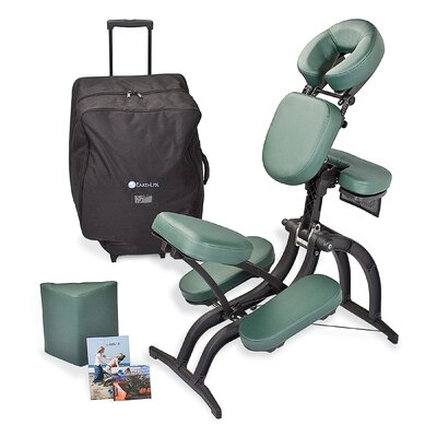 Avila Massage Chair Package Color: Teal