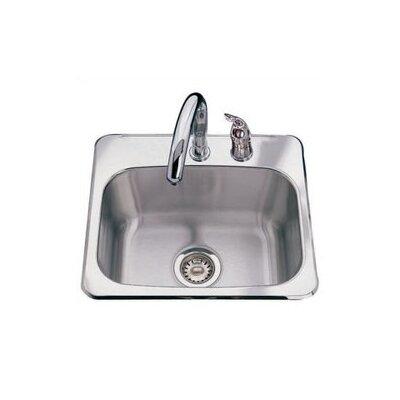 "19"" x 17"" 2 Hole Bar Sink BMSK802"