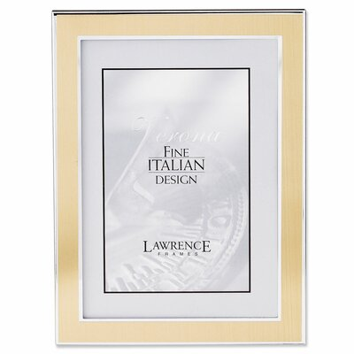 low price lawrence frames velvet backing metal picture frame size 8 x 10