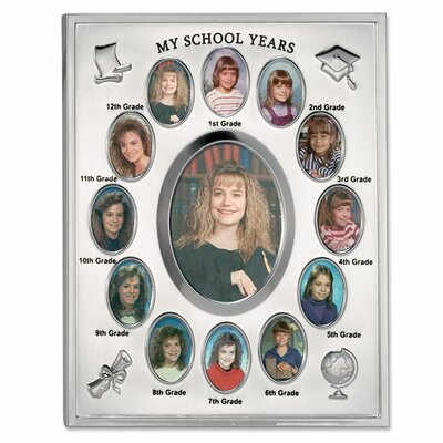 My School Years Multi Picture Frame