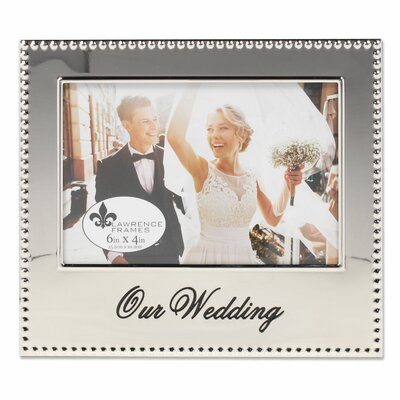 McGovern Our Wedding Picture Frame CHRL7890 43404696