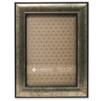 "Ridlon Domed Burnished Picture Frame Size: 5"" x 7"" MCRF4802 43404798"
