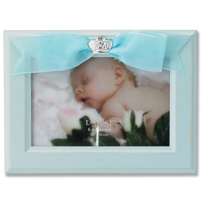 Baby Ribbon Picture Frame Color: Blue 335164