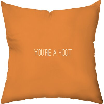 Youre a Hoot Throw Pillow