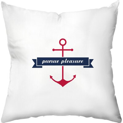 Pursue Pleasure Throw Pillow
