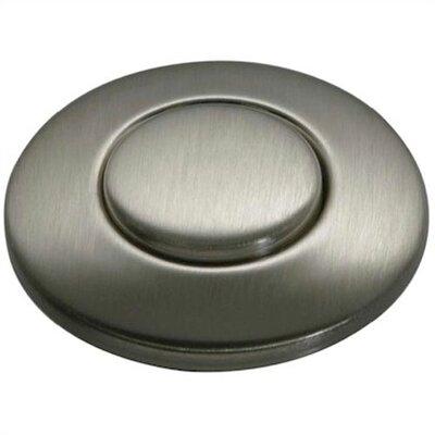 SinkTop Switch Button Finish: Satin Nickel