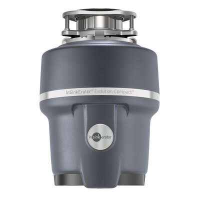 Evolution Compact 3/4 HP Continuous Feed Garbage Disposal (with Optional Power Cord) Power Cord: Power Cord Not Included Compact
