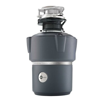 Evolution Pro Cover Control 3/4 HP Batch Feed Garbage Disposal with Soundseal Technology