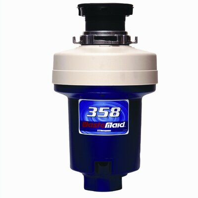 Heavy Duty 1/2 HP Continuous Feed Garbage Disposal
