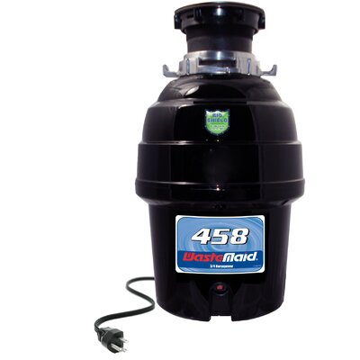 Deluxe 3/4 HP Continuous Feed Garbage Disposal