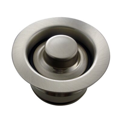 Sink Flange Finish: Brushed Nickel