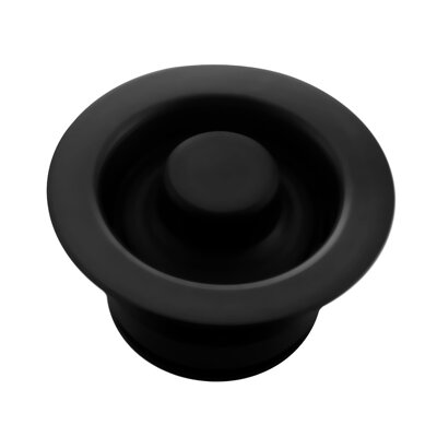 Sink Flange Finish: Black