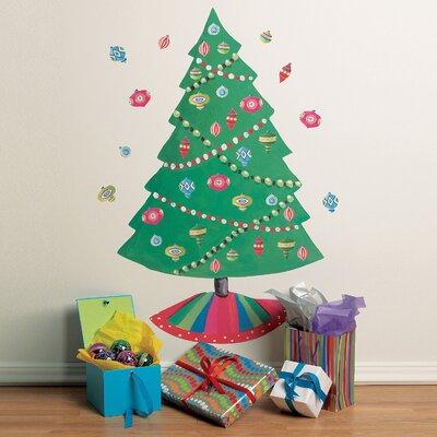 Christmas Tree Vinyl Holiday Wall Decal