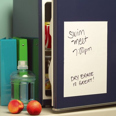 Wallies White Dry Erase - 2 Sheet Vinyl Peel and Stick at Sears.com