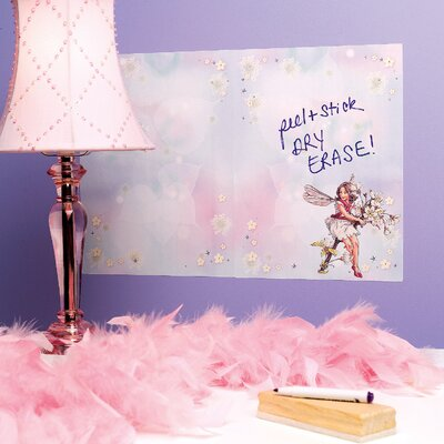 Wallies Flower Fairies Dry Erase - 2 Sheet Vinyl Peel and Stick at Sears.com