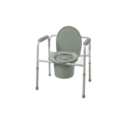 Three-in-One Elongated Commode