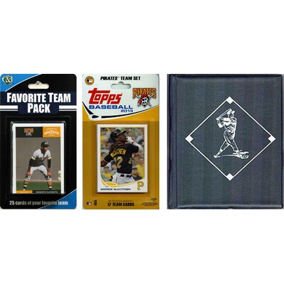 C & I Collectibles MLB Licensed 2013 Topps Team Set and Favorite Player Trading Cards Plus Storage Album - MLB Team: Pittsburgh Pirates at Sears.com